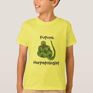 かわいい未来のHerpetologistのヘビの恋人の子供 Tシャツ