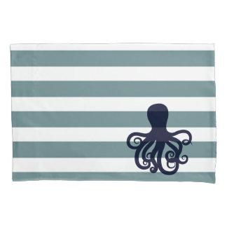かわいい海洋動物の航海のな海の子供部屋の装飾 枕カバー