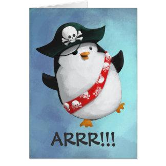 かわいい海賊ペンギン カード