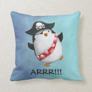 かわいい海賊ペンギン クッション