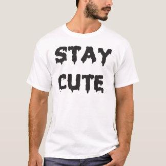 かわいい滞在 Tシャツ