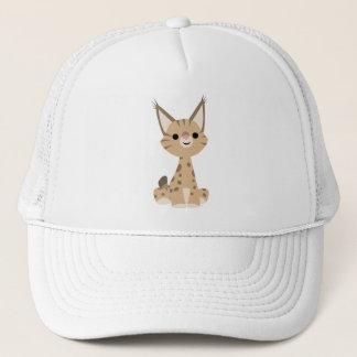 かわいい漫画のオオヤマネコの帽子 キャップ