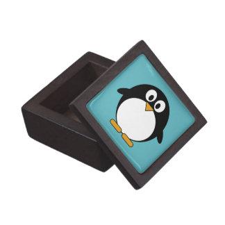 かわいい漫画のペンギン ギフトボックス