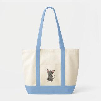 かわいい漫画のラブラドールのバッグ トートバッグ