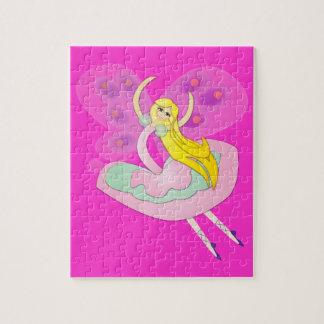 かわいい漫画の妖精 ジグソーパズル