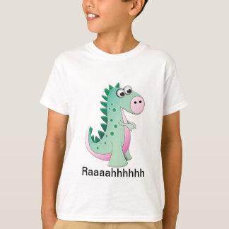 かわいい漫画の恐竜 Tシャツ