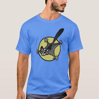 かわいい漫画の砂糖のグライダーのTシャツ Tシャツ