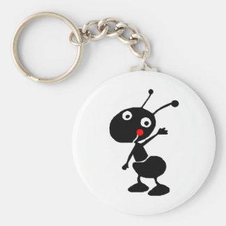かわいい漫画の蟻 キーホルダー