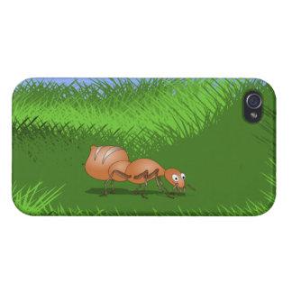 かわいい漫画の蟻 iPhone 4/4Sケース