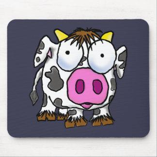 かわいい漫画牛 マウスパッド
