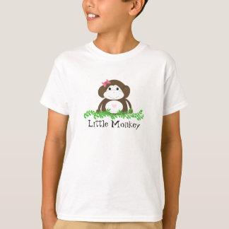 かわいい漫画猿 Tシャツ