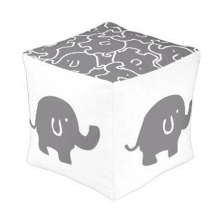 かわいい灰色象パターン動物園動物 プーフ