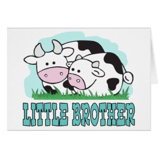 かわいい牛弟 カード