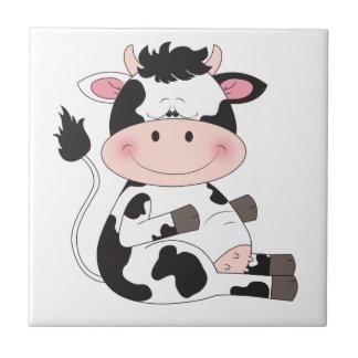かわいい牛漫画 タイル