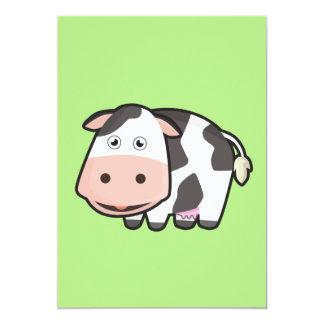 かわいい牛 カード