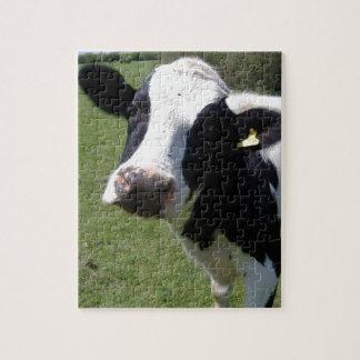 かわいい牛 ジグソーパズル