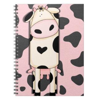 かわいい牛 ノートブック