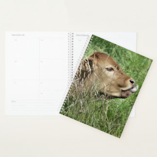 かわいい牛 プランナー手帳