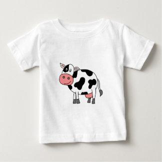 かわいい牛 ベビーTシャツ