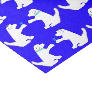 かわいい犬が付いているハヌカーのティッシュペーパー 薄葉紙