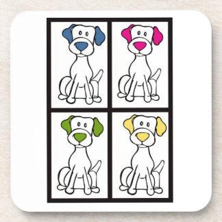 かわいい犬のスケッチ-ラブラドール コースター