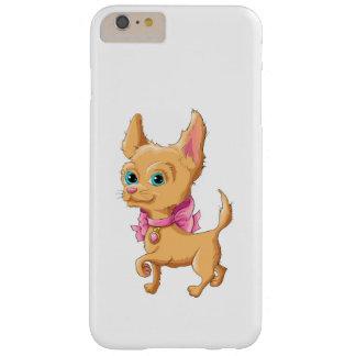 かわいい犬のチワワのイラストレーション BARELY THERE iPhone 6 PLUS ケース