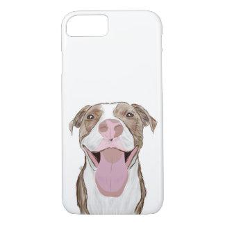 かわいい犬の電話箱、犬の絵 iPhone 8/7ケース