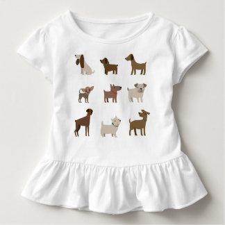 かわいい犬 トドラーTシャツ