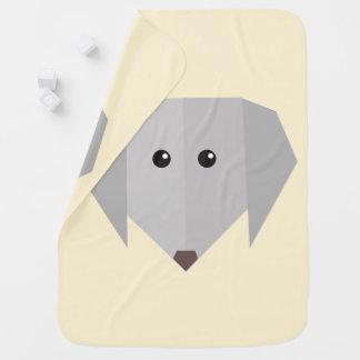 かわいい犬 ベビー ブランケット