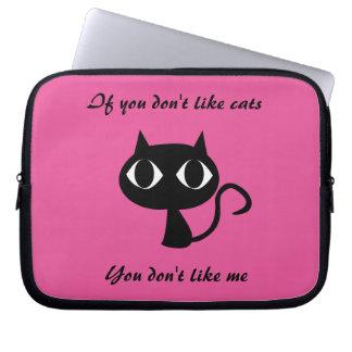 かわいい猫によって引用されるラップトップスリーブ ラップトップスリーブ