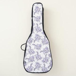 かわいい猫のアコースティックギターのバッグ、場合 ギターケース