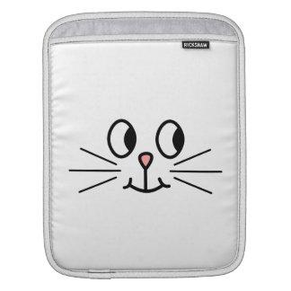 かわいい猫の表面 iPadスリーブ