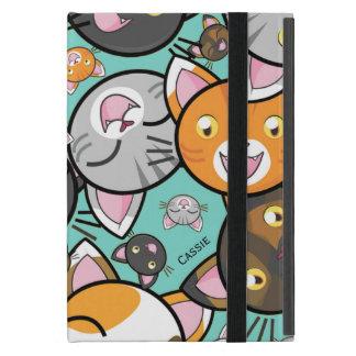 かわいい猫のiPad Miniのフォリオの場合 iPad Mini ケース