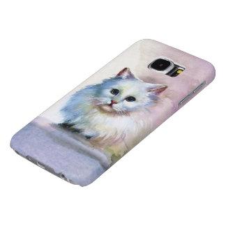 かわいい猫のSamsungの銀河系S6の箱 Samsung Galaxy S6 ケース