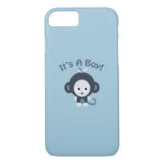かわいい猿-それは男の子です! iPhone 8/7ケース