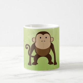 かわいい猿 コーヒーマグカップ