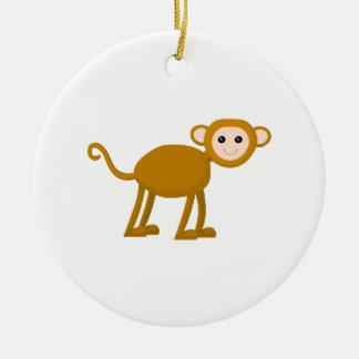 かわいい猿 セラミックオーナメント