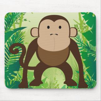 かわいい猿 マウスパッド