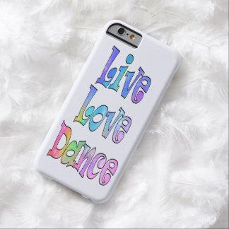 かわいい生きている愛ダンス BARELY THERE iPhone 6 ケース