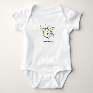 かわいい男の赤ちゃんの体のスーツ ベビーボディスーツ