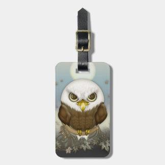 かわいい白頭鷲 ラゲッジタグ