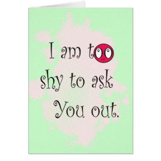 「かわいい私は」バレンタインデーを頼むには余りにも内気です カード