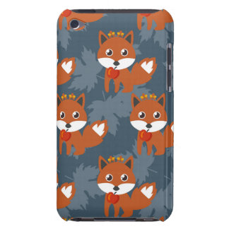 かわいい秋のキツネパターン Case-Mate iPod TOUCH ケース