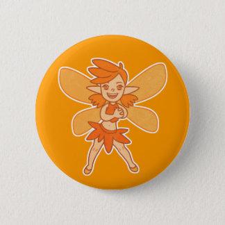 かわいい秋の妖精 5.7CM 丸型バッジ