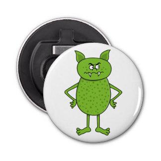 かわいい緑の小悪魔の漫画 栓抜き