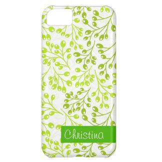 かわいい緑の秋の果実 iPhone5Cケース