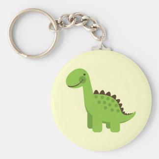 かわいい緑恐竜 キーホルダー