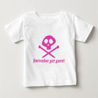 かわいい編み物 ベビーTシャツ