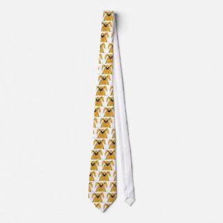 かわいい脂肪質のバニーのネクタイ ネクタイ