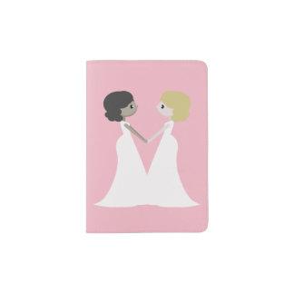 かわいい花嫁 パスポートカバー